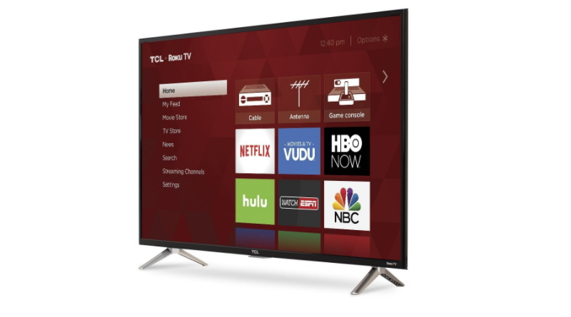 TCL 720p Roku Smart LED TV (2017)
