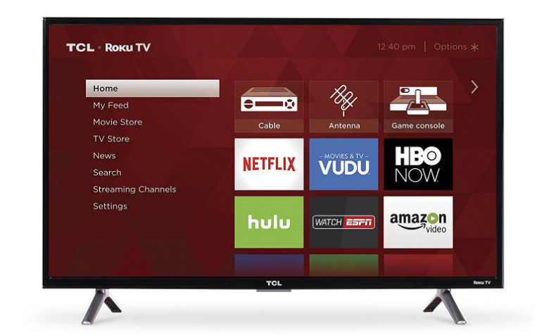 TCL 720p Smart LED TV with Roku