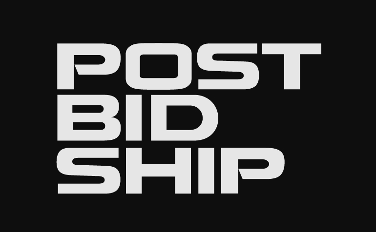 Post.Bid.Ship