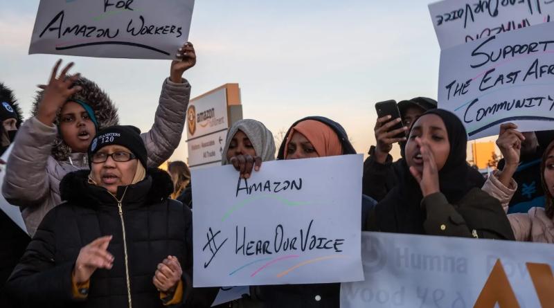 'We Are Not Robots': Amazon Warehouse Employees Push to Unionize