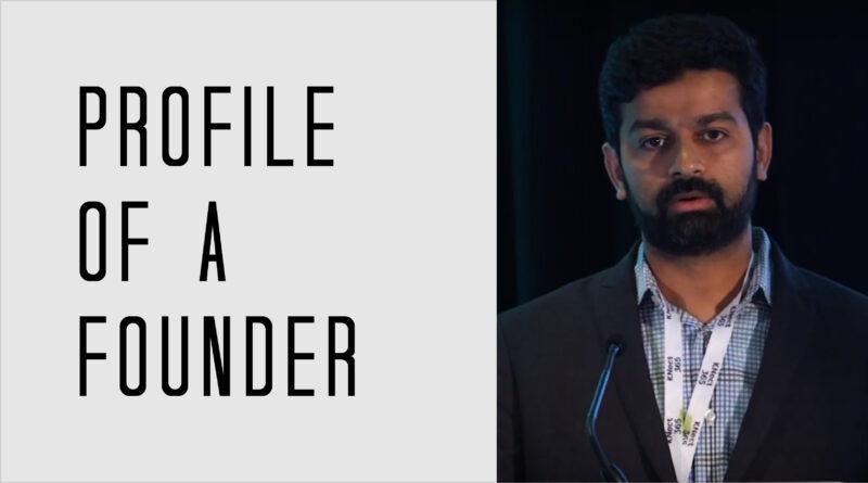 Profile of a Founder - Harish Neelamana of DataCubes