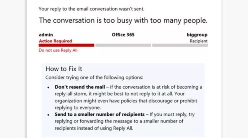 Microsoft now blocks reply-all email storms to end our inbox nightmares