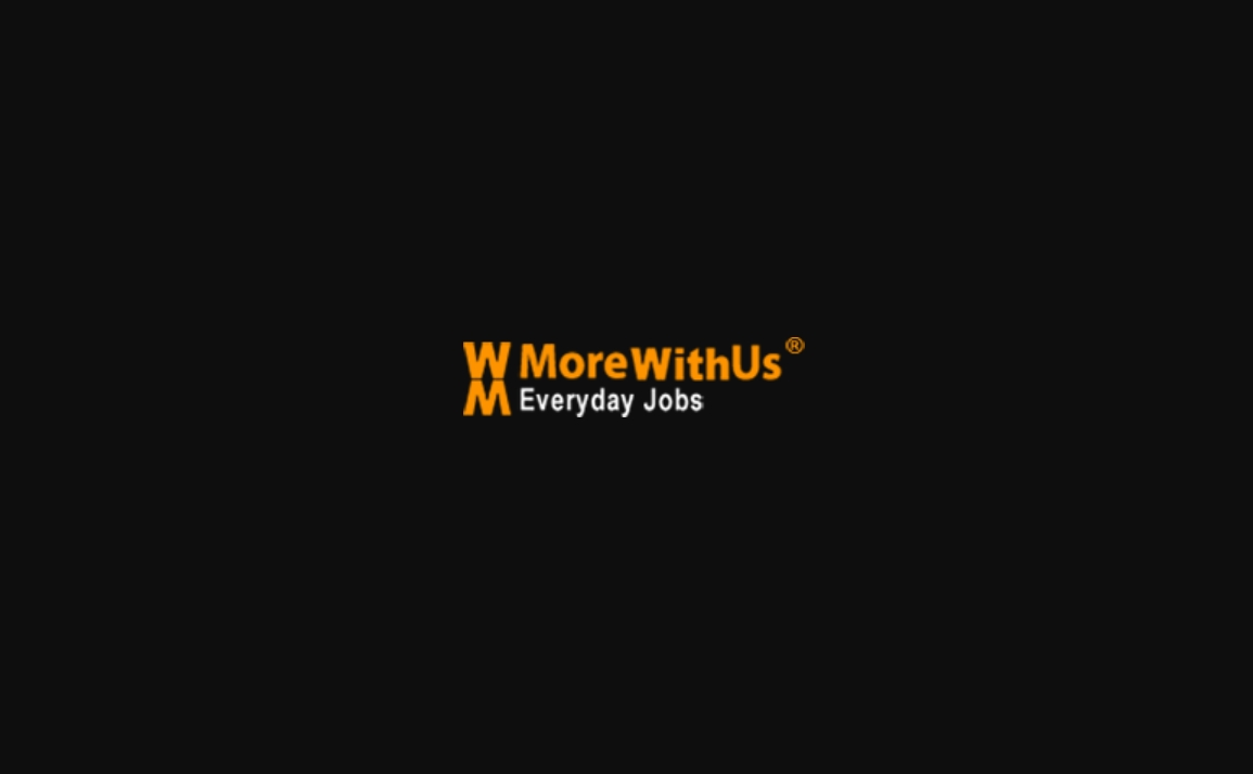 MoreWithUs - Everyday Jobs