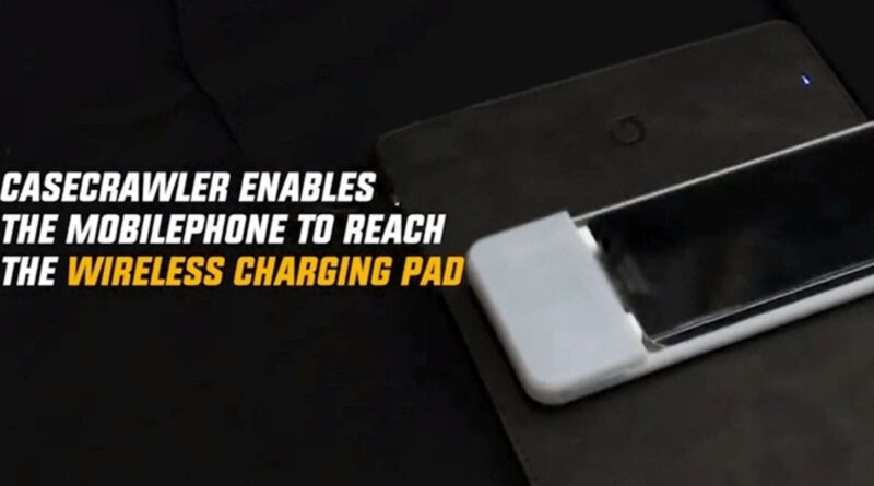 This Case Gives Your Phone Robotic Legs So It Can Crawl to a Wireless Charging Pad