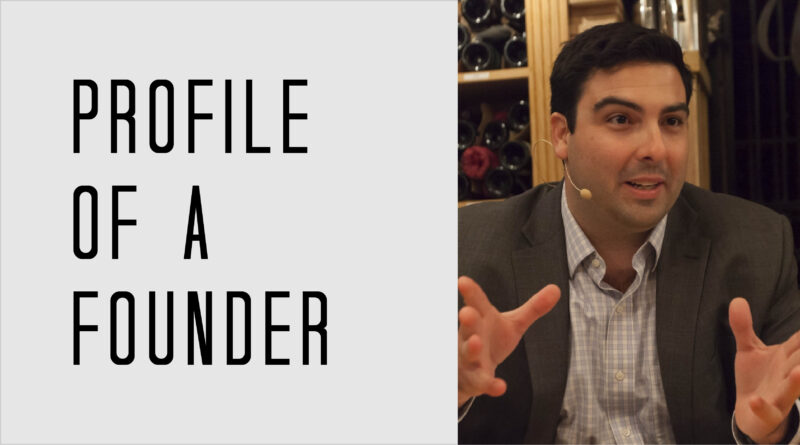 Profile of a Founder - Alex Reed of Fluence Analytics