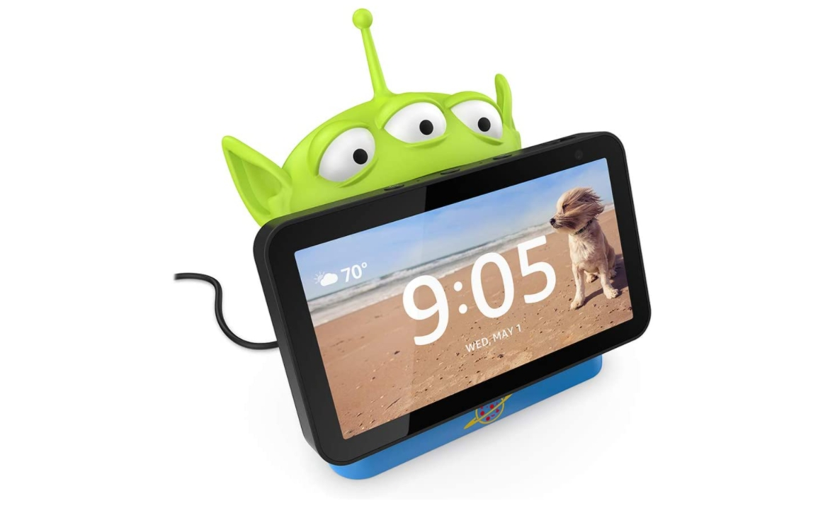 Toy Story 4 Alien Stand for Echo Show 5