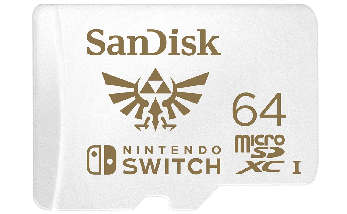 SanDisk 64GB Memory Card for NintendoSwitch