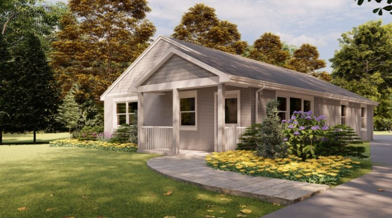 First Commercial 3D Printed House in the US Now on Sale for $300,000