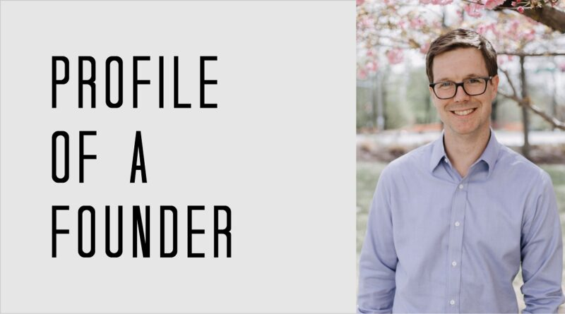 Profile of a Founder - Mat Kendall of Aledade